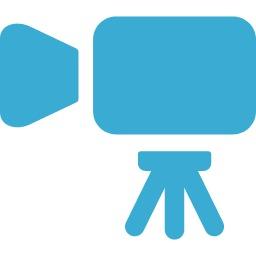 商用利用可のビデオカメラのアイコン素材 5