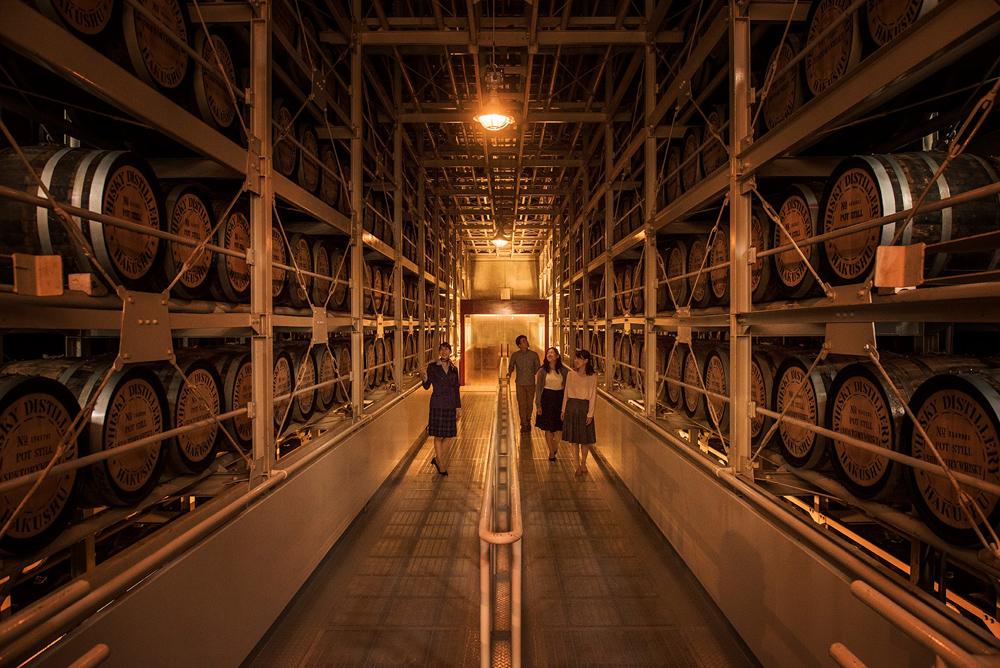 サントリー白州蒸留所 天然水工場