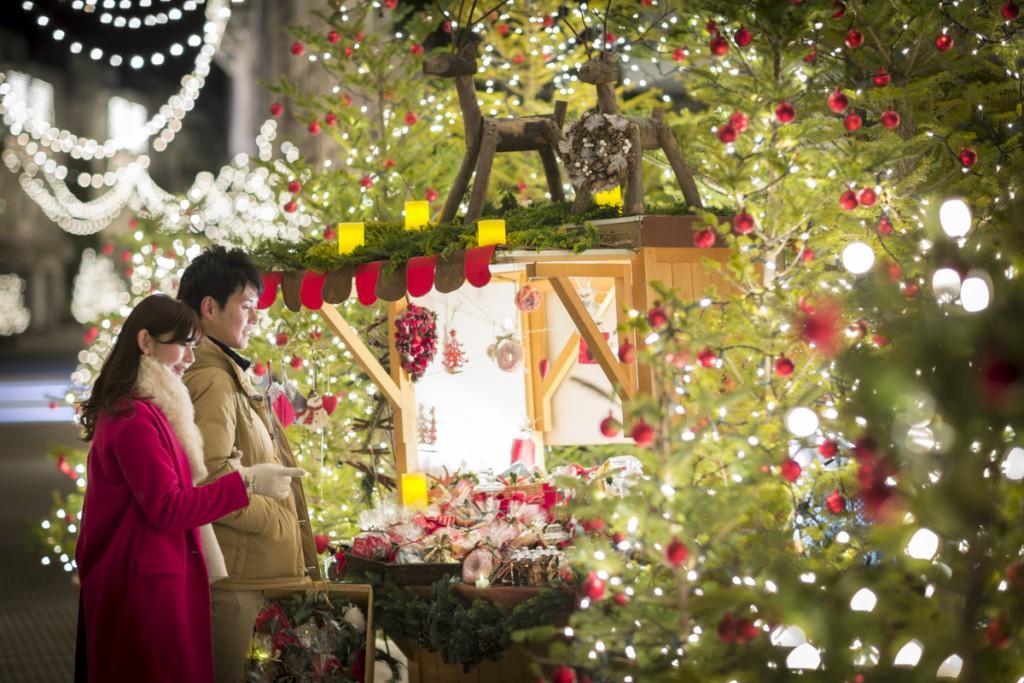 【リゾナーレ八ヶ岳】クリスマスタウン_クリスマスマルシェ