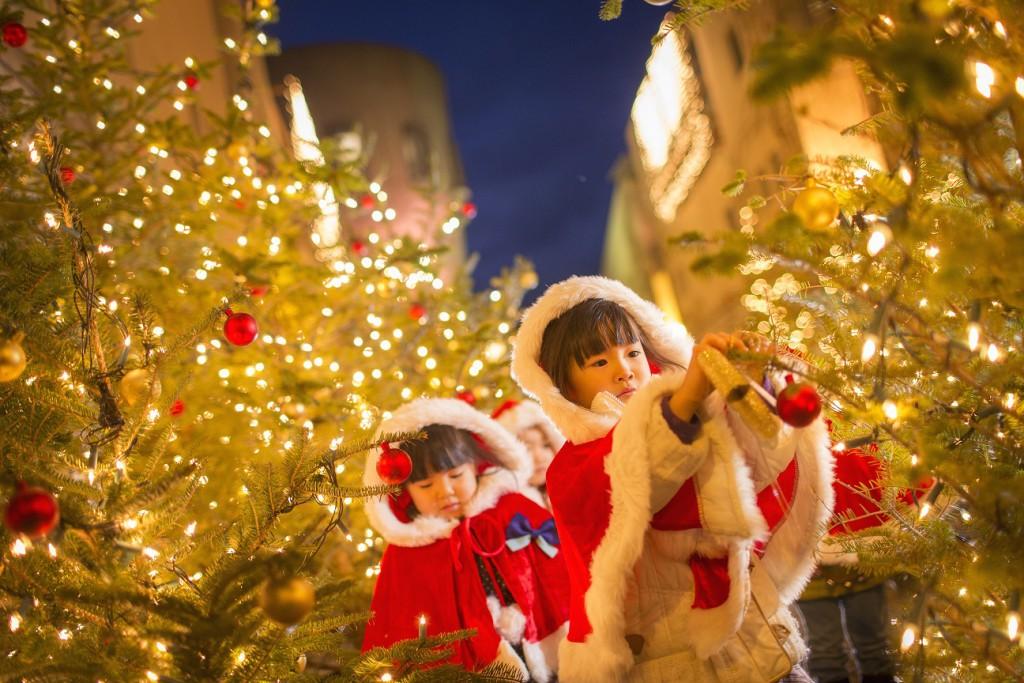 【リゾナーレ八ヶ岳】クリスマスタウン_ACT2