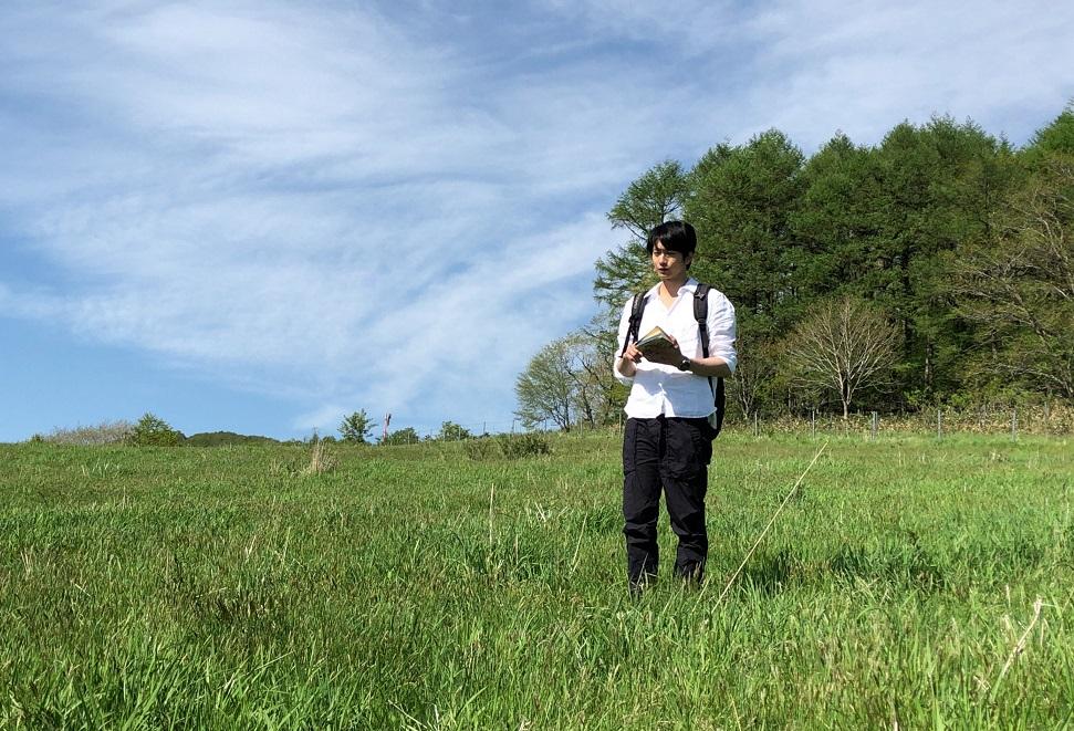 春と修羅を朗読する向井理_1